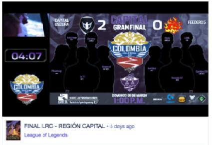 Twitch, LOL, League of Legends, Colombi, Bogotá, final regional cundinamarca,