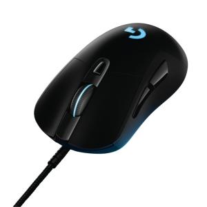 G403 Prodigy Gaming Mouse - FOB Cord, Tan grande y jugando