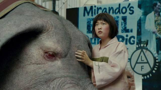 Okja, Tan Grande y Jugando, Netflix,
