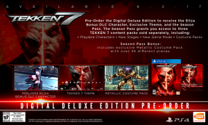 Tekken 7, ps4, box, pc, Tan grande y jugando, Steam, Bandai Namco