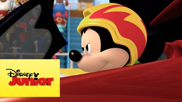 Mickey: Aventuras sobre ruedas, Mikey, tan grande y jugando, Disney, Disney Junior