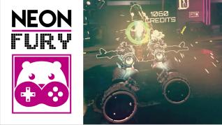 Tan Grande y Jugando, Neon Fury, Realidad virtual, Teravision Games, José de Jesús, José Alberto Gomez, Daniel Lezama, videojuegos, Colombia, videojuegos Colombia, NeonFury