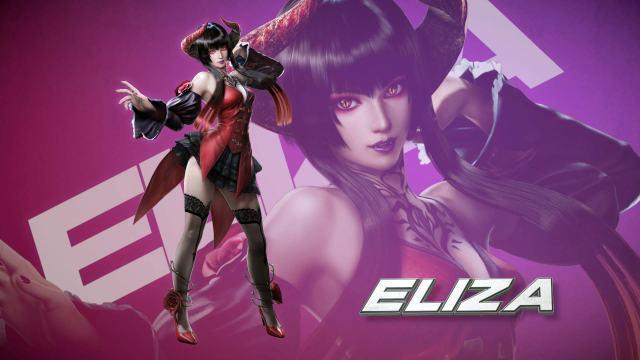 TEKKEN7, Teken, Eliza, vampire, videogames, Tan Grande Y Jugando, videojuegos