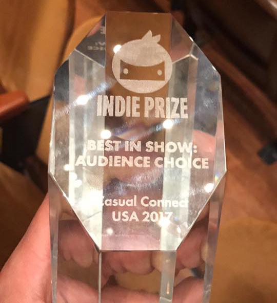 Indie Price, Casual connect, best game in show, Audience Award, brainz games, brainz, indie, game developer, developer, video games, video game developer, World War Doh, WWD