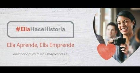 Colnodo, ella aprende ella emprende, #EllaHace Historia, Colombia, Secretaría Distrital de la mujer, Tan Grande y Jugando, facebook, tecnología, tecnología para la mujer, Tecnologías para las mujeres
