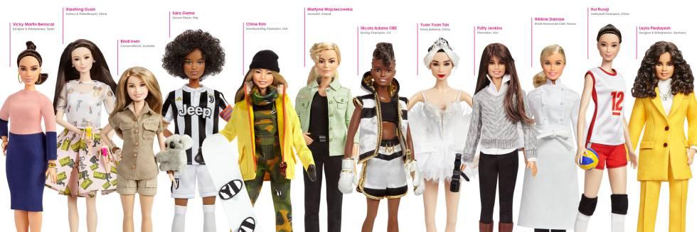 Mujeres, Barbie, Matel, juegos, muñecas, tan grande y jugando, empoderar