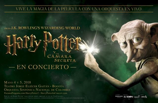 Harry Potter, Harry Potter y la cámara de los secretos, Warner Music, concierto de película, concierto de harry potter harry potter concert, Tan Grande y Jugando, Jeffrey Schindler
