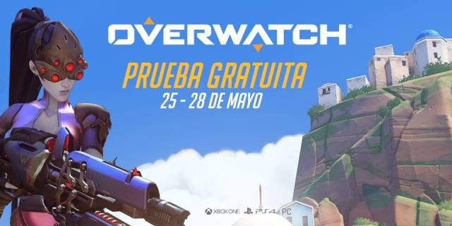 Overwatch, prueba gratuita, videojuegos, play station 4, xbox, pc games, first person shooter, aniversario, aniversario overwatch, blizzard, tan grande y jugando,