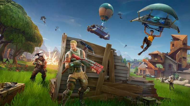 tan grande y jugando, Fortnite, survival horror, battle royale, Jormanks