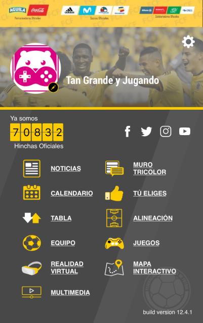 app store, tan grande y jugando, app del dia, seleccion colombia, mundial, app del mundial, app de futbol, futbol, partidos de futbol, partidos, james rodriguez, falcao, el tigre, el tigre falcao, Federación Colombiana de Futbol