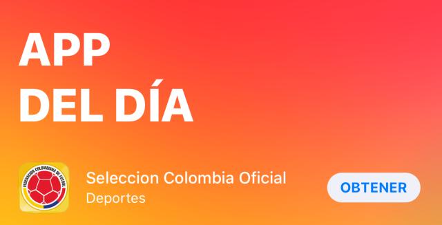 app store, tan grande y jugando, app del dia, seleccion colombia, mundial, app del mundial, app de futbol, futbol, partidos de futbol, partidos, james rodriguez, falcao, el tigre, el tigre falcao,